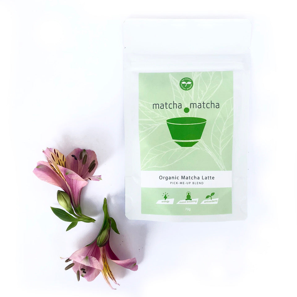 Organic Matcha Latte - Pick Me Up Blend