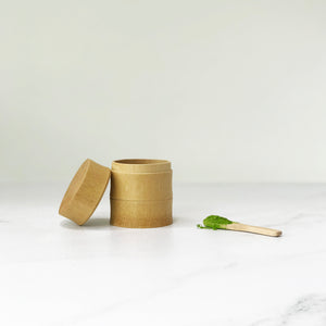 Bamboo Tea Canister with Spoon