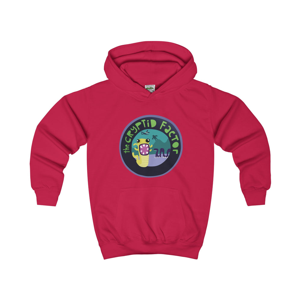 The Cryptid Factor Official Kids Hoodie