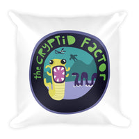 The Cryptid Factor Official Square Pillow
