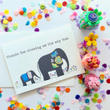 Mum Card- Elephant Love