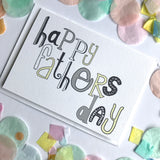 Dad Card - Happy Fathers Day Typography