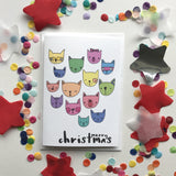 Christmas Card-Cats