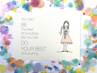 Illustration Print - Do Your Best