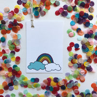 Swing Tag-Rainbow