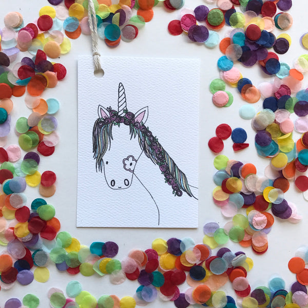 Swing Tag-Unicorn