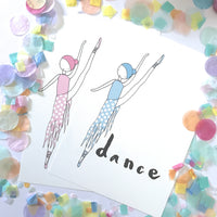 Illustration Print - Dancer