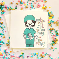 Thankyou Doctor/Nurse Card