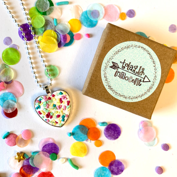 Necklace - Love Heart - Sprinkles