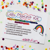 DIY Card Making Kit