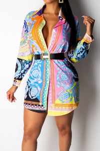 Saucey Shirt Dress
