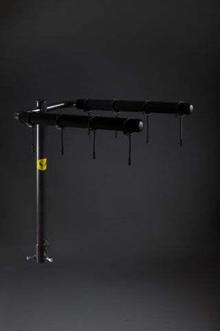 4 Bike fixed arm rack