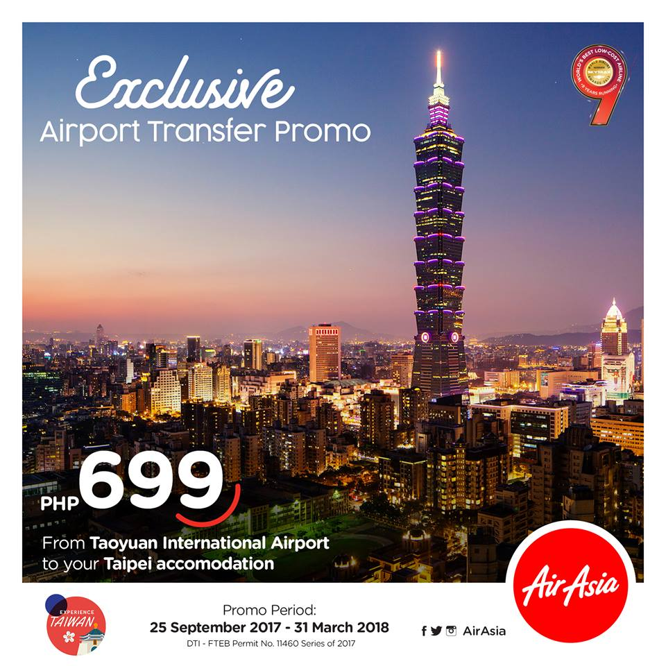 Experience Taiwan Air Asia Ride Share