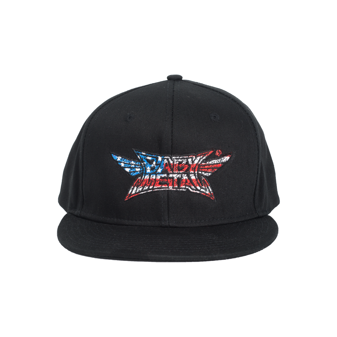 BABYMETAL CRUSH LOGO HAT (STARS AND STRIPES)-BABYMETAL
