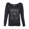 REAPER WOMENS WIDE NECK SWEATSHIRT-BABYMETAL