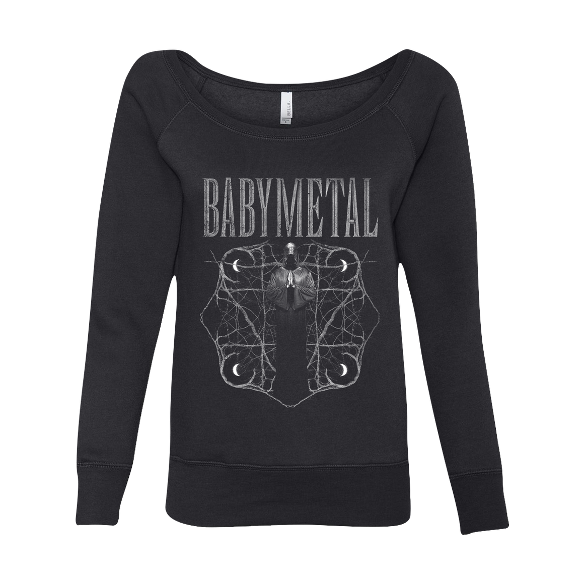 REAPER WOMENS WIDE NECK SWEATSHIRT - BABYMETAL