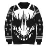 """WHITE FOX"" UGLY HOLIDAY SWEATER - BABYMETAL"