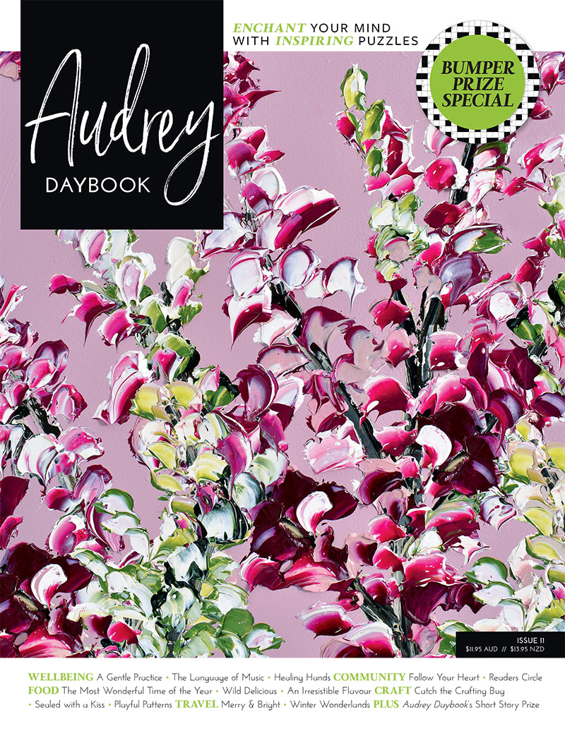 Audrey Daybook Current Issue Magazine Cover