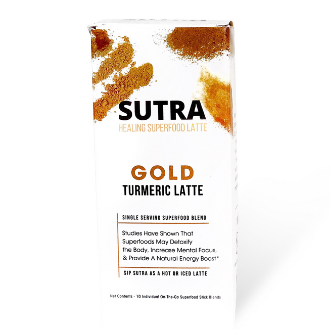 GOLD Turmeric Latte - SUTRA
