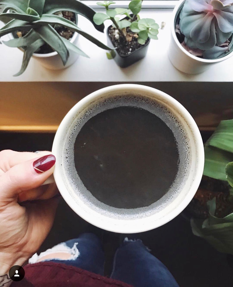 Make at Home - Unsweetened Bulk Black Cacao Latte - SUTRA
