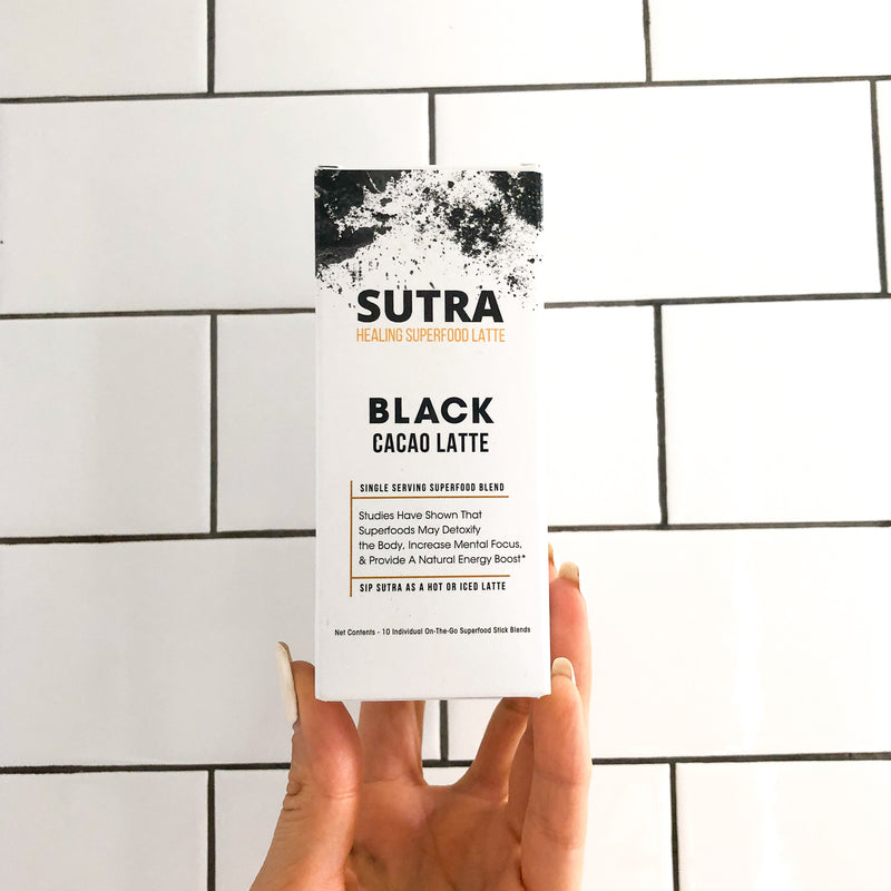 Travel Sticks - Black Cacao Latte - SUTRA