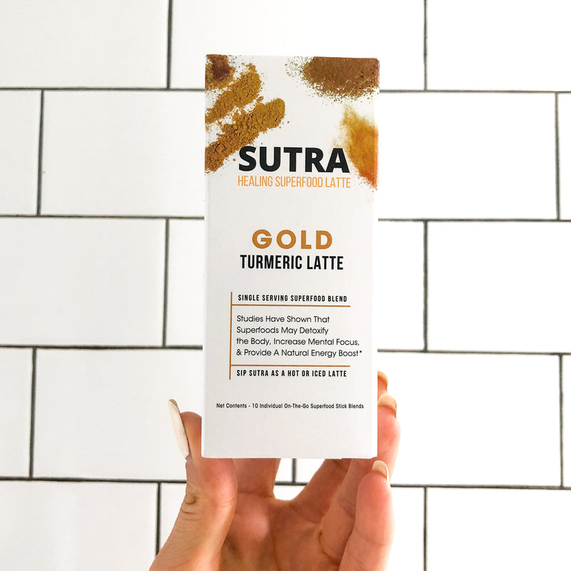 Travel Sticks - GOLD Turmeric Latte - SUTRA