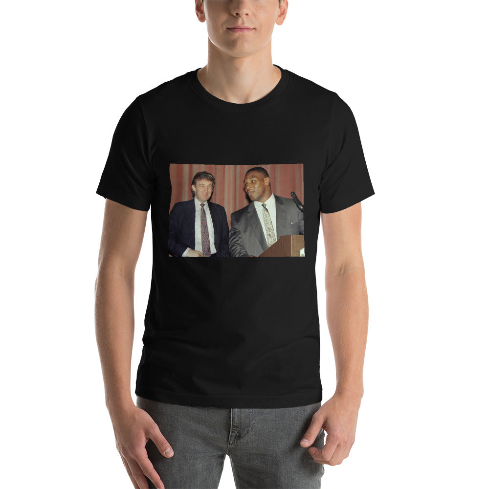 Another Limited Edition Iron Mike Tyson & Donald J. Trump Short-Sleeve Unisex T-Shirt