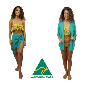 The U Wrap with Sarong Buckle Set