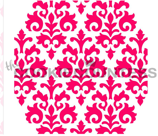 "Stencil n° 134: ""Countess Damask"""