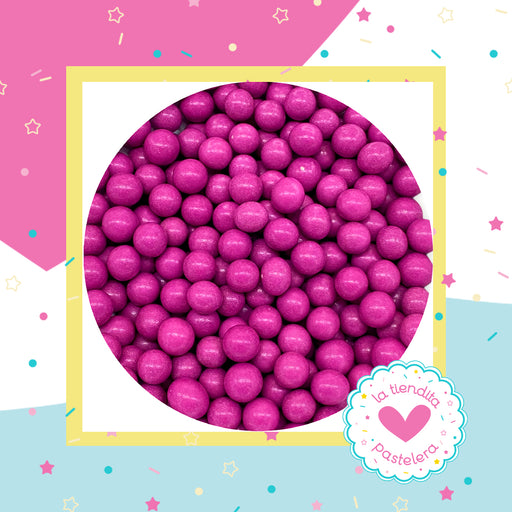13 Sprinkles - Perlas de chocolate color morado (grandes)