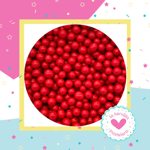 14 Sprinkles - Perlas de chocolate color rojo (chicas)