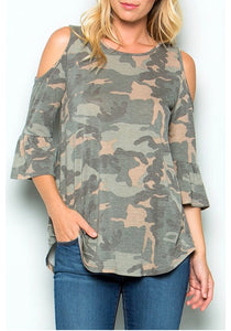 Sarge Top *BEST SELLER* - Magnolia Lace Boutique