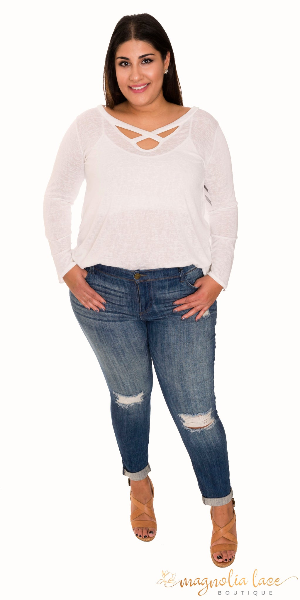 Joeys Jeans - Magnolia Lace Boutique