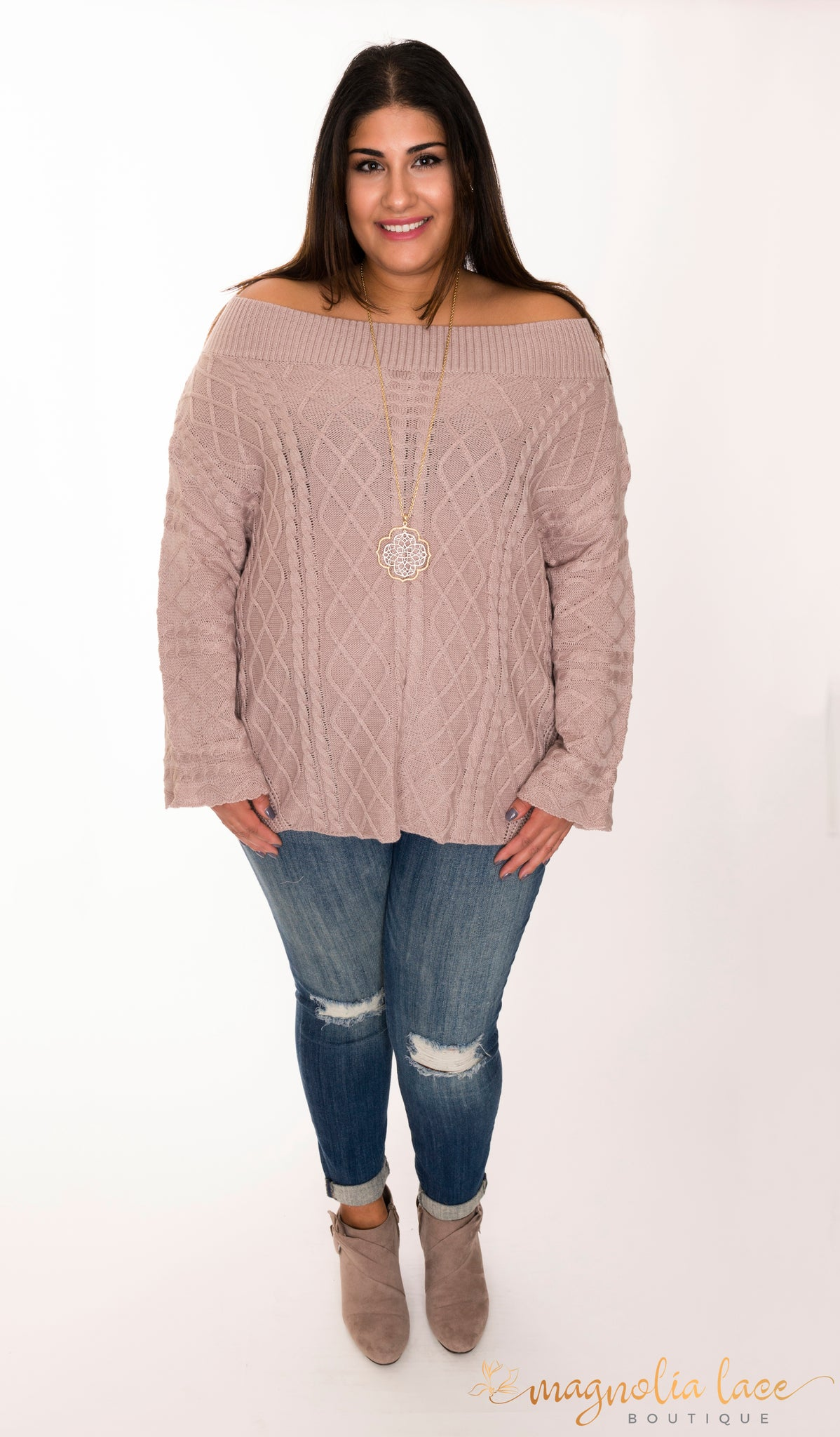 Savanna Sweater *CLEARANCE - Magnolia Lace Boutique