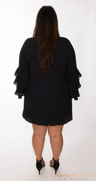 Ruffle Tunic - Magnolia Lace Boutique