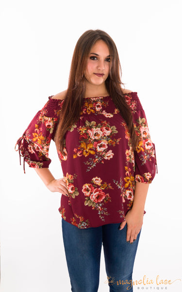 Kaitlyn Top *CLEARANCE - Magnolia Lace Boutique