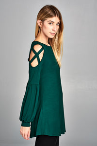 Emerald Goddess Top