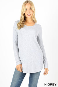 Back to Basics Top (Missy + Curvy), Assorted Colors