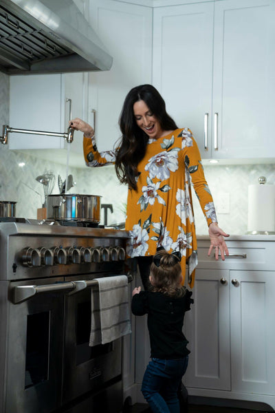 Fields of Gold Tunic Top