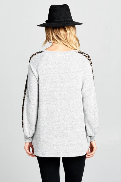 Wild Side Sweater Tunic