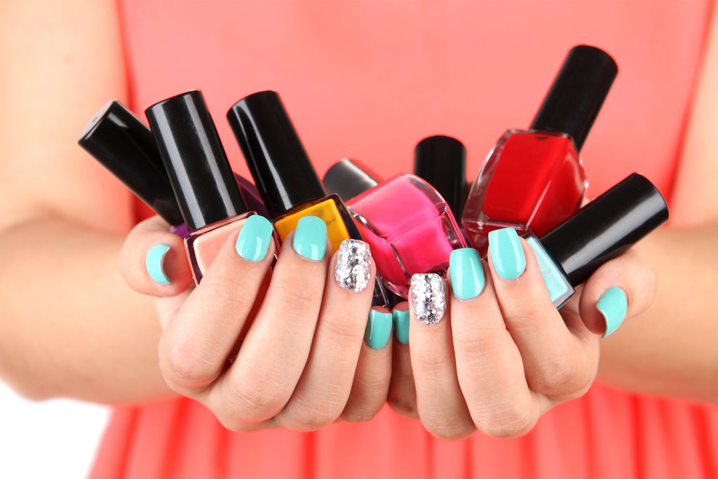 Mom's Best Advice - Handful of Nail Polish