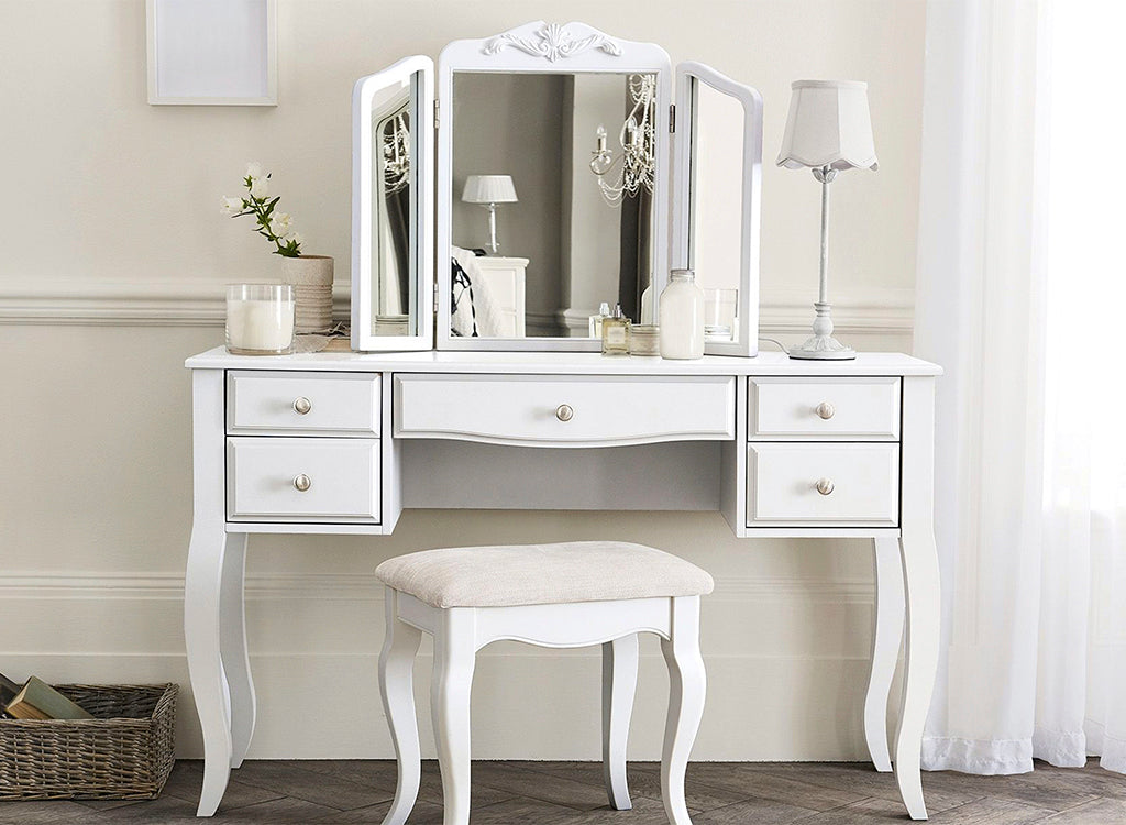 All White Chic Vanity