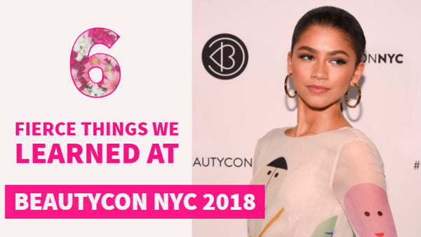 6 Fierce Things We Learned at Beautycon - ft. Zendaya via @Zendaya official Instagram