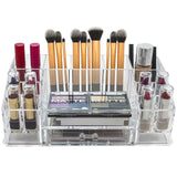 Cosmetic Organizer Top with Drawer - 16 slot - Large - sorbusbeauty