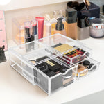 Stackable Cosmetic Organizer  - 3 Drawer (XL)
