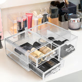 Stackable Cosmetic Organizer - 3 Drawer - Large