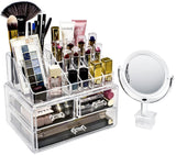 Makeup Organizer with Detachable Mirror - sorbusbeauty