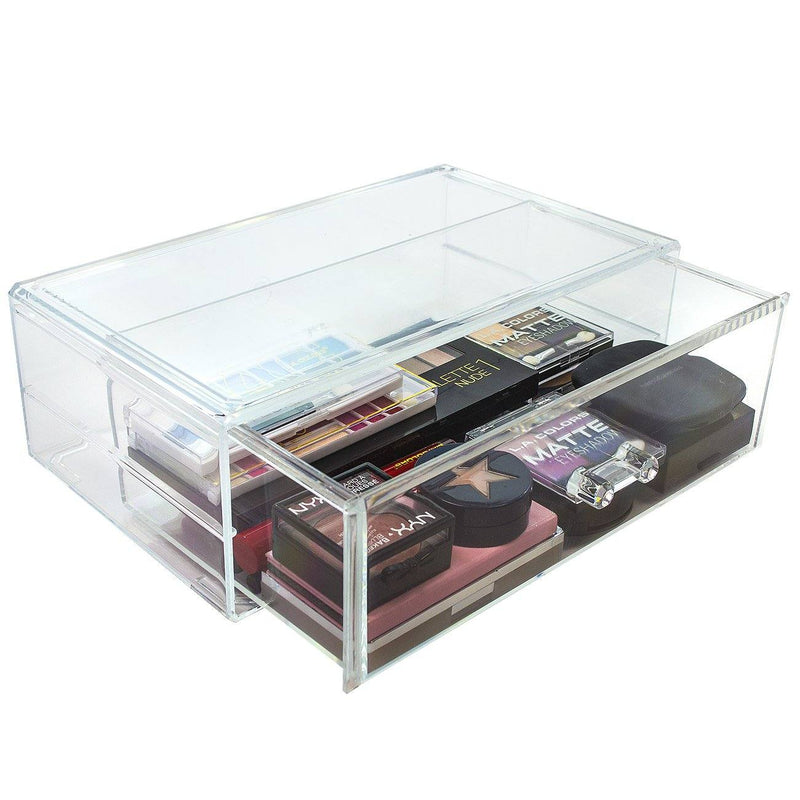 Stackable Cosmetic Organizer - 1 Drawer - Large - sorbusbeauty