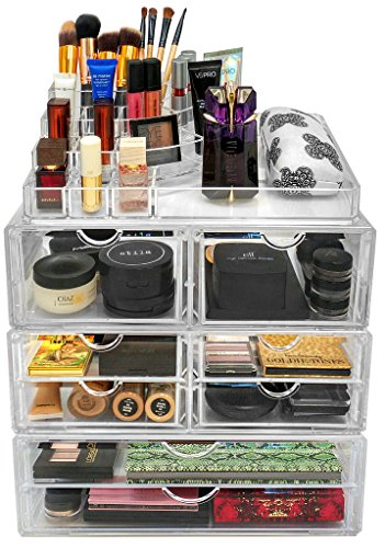 Stackable Cosmetic Organizer  - 2 Drawer (XL)