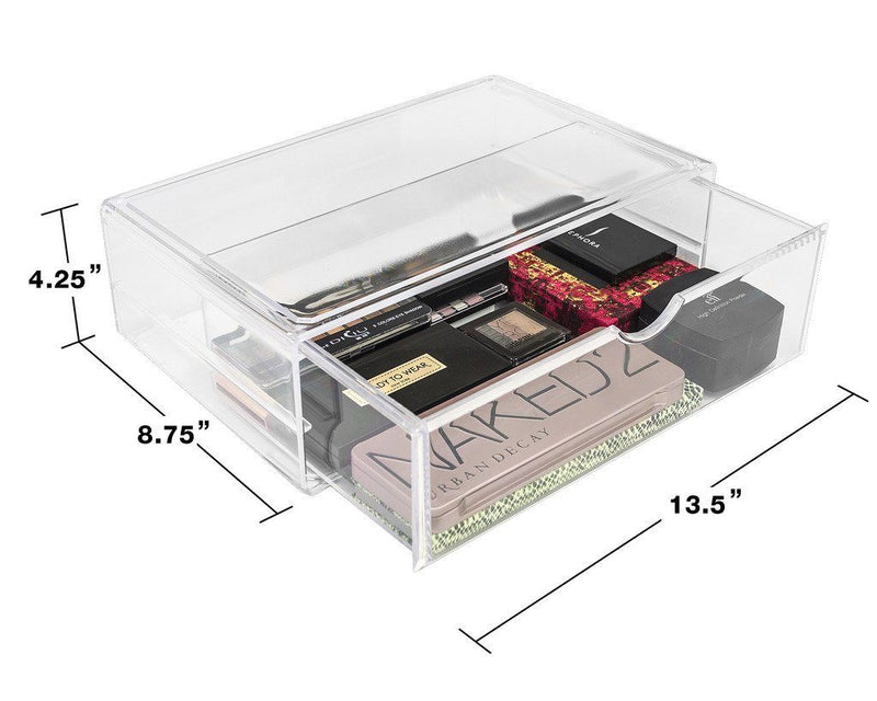 Stackable Cosmetic Organizer - 1 Drawer (XL) - sorbusbeauty